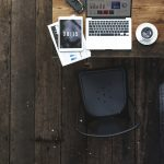Digital Laptop Working Global Business Concept
